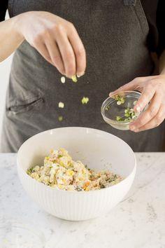 Japanese potato salad milk street recipe in 2019 deli salads Japanese Potato Salad, Potato Salad Dill, Potato Salad Recipe Easy, Potato Salad With Egg, Easy Salad Recipes, Potato Recipes, Rice Recipes, Dinner Recipes, Easy Japanese Recipes