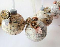 Christmas bulbs made beautiful