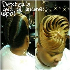 Double Roll Pin up Black Hair Updo Hairstyles, Roll Hairstyle, Black Girls Hairstyles, African Hairstyles, Cute Hairstyles, Braided Hairstyles, Beautiful Hairstyles, Ponytail Styles, Updo Styles