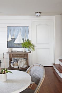Sailboat Art, Design Art, Interior Design, Ballard Designs, Coastal Homes, Staple Pieces, Coastal Style, Custom Paint, Polished Nickel