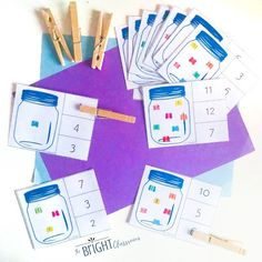 count & clip // Love this activity that combines counting skills with fine motor practice! 🔢🖐🏻Another fun activity from our butterfly week… Preschool Classroom, Preschool Activities, Oct 29, Hands On Learning, Memory Games, Pre School, Fine Motor, Counting, Ms