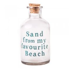 Heaven Sends Sand From My Favourite Beach Glass Bottle - Heaven Sends from Mollie & Fred UK