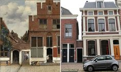 Dutch art historian says he knows whereabouts of 17th-century street, one of only two surviving outdoor scenes by artist