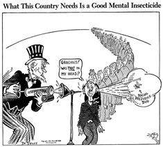 While some of Dr. Seuss's World War II political cartoons can be seen as racist in today's society, a lot of them then denounced racism in the United States
