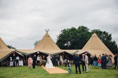 Red on Blonde Photography | Rustic Tipi Wedding