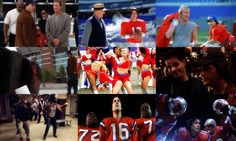 A montage of scenes from The Replacements movie...funny, funny!