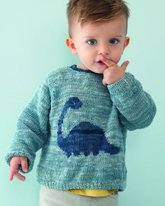 kostenloses-muster-jungenpullover/ - The world's most private search engine Baby Boy Knitting Patterns, Fair Isle Knitting Patterns, Knitting For Kids, Dinosaur Sweater, Pull Bebe, Baby Hands, Pants Pattern, Pulls, Knitwear