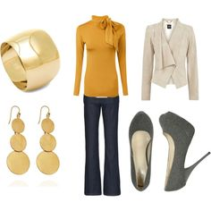 cute and classic fall outfit