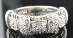 Ferro Jewelers - Gold & Silver Jewelry | 18kw .85ctw Roberto Coin Ring