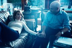 Rep. Gabby Giffords And Mark Kelly (by Norman Jean Roy, for Vogue)