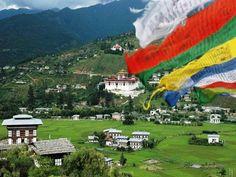 The Peaceful Country of Bhutan Photo Courtesy Bhutan Tourism Country Information, West Bengal, Paros, Bhutan, Photo Art, Places To Go, Tourism, Dolores Park, World