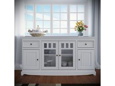 Belluno Elegante, drevená komoda z masívu, biela China Cabinet, The Originals, Storage, Wood, Kitchen, Furniture, Home Decor, Google, Elegant