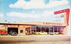 Albertson Brothers Oldsmobile - 4114 Sepulveda Blvd at Washington, Culver City CA 1954