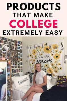 Wondering what college essentials will actually help you!? I put together a list full of the best & inexpensive things! I promise all of these products were so helpful during my freshman year of college and I know they will help you too! college essentials, dorm, supplies, Amazon, for girl, the BEST amazon college essentials ever! #college #amazon #dorm #forgirls
