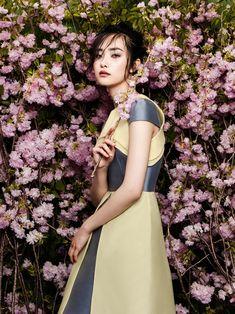 flowers fashion zhang jingna phuong my7 FGR Exclusive   Kwak Ji Young by Zhang Jingna in Flowers Bloom