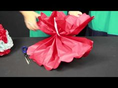 ▶ How to Make Paper Pom Poms - YouTube