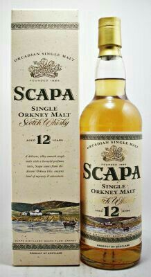Scapa single malt Scotch Whisky Orkney Malt