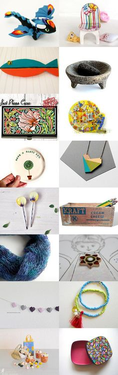 Make a Present! by Nataliia Litun on Etsy--Pinned+with+TreasuryPin.com