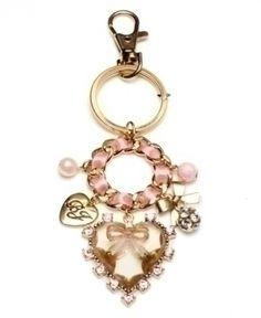 cute key chain by betsey johnson