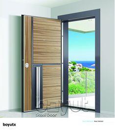 """*Model """"Boyut-X"""" *Steel Security Door, *Entrance Door"""