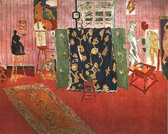 Pink Studio, 1911 by Henri Matisse (French 1869-1954)