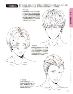 haar tekenen Drawing Hairstyles For Yo - haar Anime Poses Reference, Hair Reference, Drawing Reference, Male Pose Reference, Manga Drawing Tutorials, Art Tutorials, Painting Tutorials, Painting Techniques, Guy Drawing