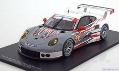 Porsche 911 (991) RSR, Class Winner 24h Daytona 2014, No.911, Pilet/Tandy/Lietz. Spark, 1/18, No.18US001, Limited Edition 500 pcs. 155 EUR