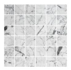 Marmormosaik U4848 Carrara Polerad 48x48 mm | Stonefactory.se