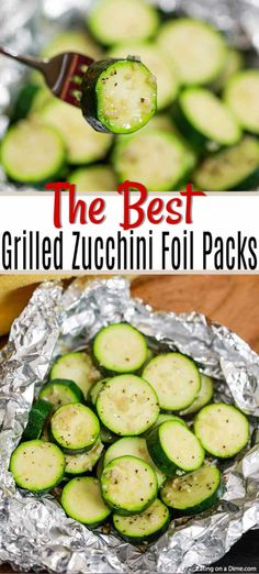 Grilled Zucchini Foil Packs Recipe Grilled Zucchini Foil Pack Recipe is the easiest side dish and clean up is a breeze. The veggies have the best flavor from the grill and it is so frugal. Camping Desserts, Camping Meals, Camping Recipes, Backpacking Recipes, Zuchinni Recipes, Recipe Zucchini, Grilled Zucchini Recipes In Foil, Simple Zucchini Recipes, Grilled Zucchini Boats