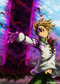 Nanatsu No Taizai 159 - Ban e Meliodas by on DeviantArt All Anime, Otaku Anime, Manga Anime, Seven Deadly Sins Anime, 7 Deadly Sins, Meliodas Vs, Demon King Anime, 7 Sins, Seven Deady Sins