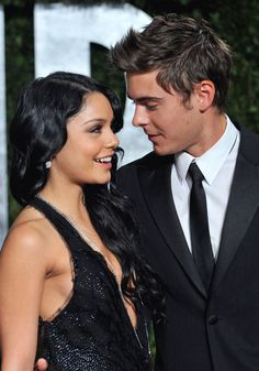 Zack & Vanessa @ 2010 Oscars AfterParty - zac-efron-and-vanessa-hudgens Photo Zac Efron Vanessa Hudgens, Vanessa Hudgens Style, Troy Bolton, Cute Celebrity Couples, Cute Couples, Lizzie Mcguire, Pitch Perfect, Gilmore Girls, Zac Efron And Vanessa