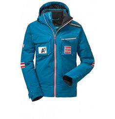 An awesome ski jacket like this awaits you. Schoffel brands cater to your ski racing needs, top quality available in adult and junior sizes. Ski Fashion, Womens Fashion, Ski Racing, Kayaking, Motorcycle Jacket, Sport, Skiing, Challenge, Fitness