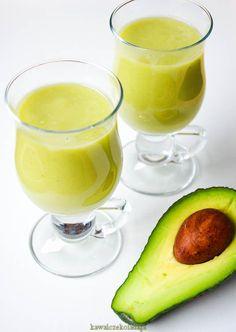 Smoothie z awokado, ananasa i banana | Kawa i Czekolada Homemade Protein Shakes, Easy Protein Shakes, Protein Shake Recipes, Smoothie Drinks, Smoothie Diet, Fruit Smoothies, Easy Healthy Smoothie Recipes, Smothie, Weight Loss Smoothies