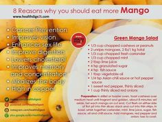 8 reasons why you should eat Mango