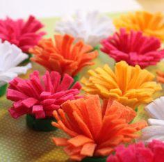 comment faire des fleurs en tissu - Google Search