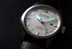Bremont Solo White Watch #bremont British Watchmakers London #horlogerie @calibrelondon