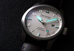 Bremont Solo White Watch #bremont British Watchmakers London #horlogerie @calibrelondon