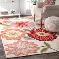 Tapete Floral, Pink Flower Bouquet, Area Rugs For Sale, Floral Area Rugs, Rugs Usa, Rug Shapes, Indoor Rugs, Pink Rug, Peach Rug