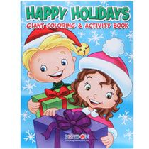 bulk christmas jumbo coloring activity book 144 pages at dollartreecom - Coloring Books In Bulk