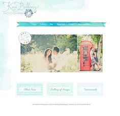 Blog Graphic Design for Wedding Photographer Kari Bellamy