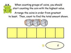 This ActivInspire flipchart covers Coin Recognition, Coin Values, Skip Counting Skills, Counting Coins Practice, One Dollar and Writing Money Amounts using a scaffolded and systematic approach.