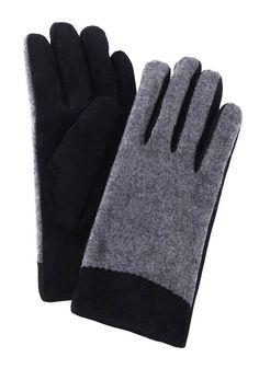bf74f0c2d6f11f Trachtenhandschuhe Damen mit warmen Innenfutter für 24,99€. Modischer  Handschuh mit Lederperforierung am