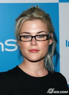 Rachael Taylor.  If I get my Business Degree:  I might look as sexy as her. Pretty + Smart = sexy.