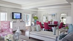 How to accent a neutral space with a color