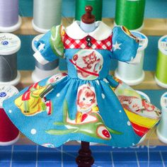 Plastic Fashion Blythe DressKids from Outerspace by PlasticFashion, $45.00