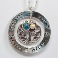 Large Tree of Life Necklace. $68.00, via Etsy.