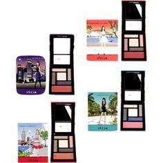"""""""Stila Travel Makeup Palettes"""" by kavi360blog on Polyvore"""