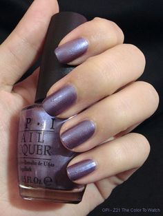 OPI - Z Color To Watch