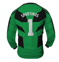 ARMOR Goalkeeper Jersey MAXIMUS With Custom Name And Number green back