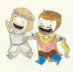 Loras & Renly <3 #got #agot #asoiaf